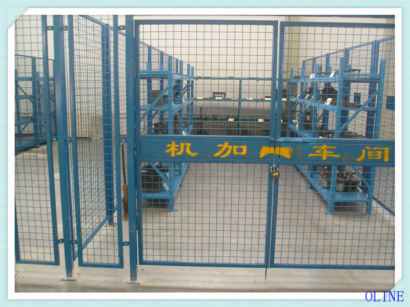 Industrial Welded Wire Mesh Partition Fence - China Sperate Net ...