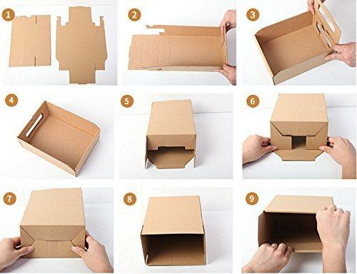 c930f7fa5ac Multipurpose Custom Logo Printing Storage Kraft Cardboard Paper ...
