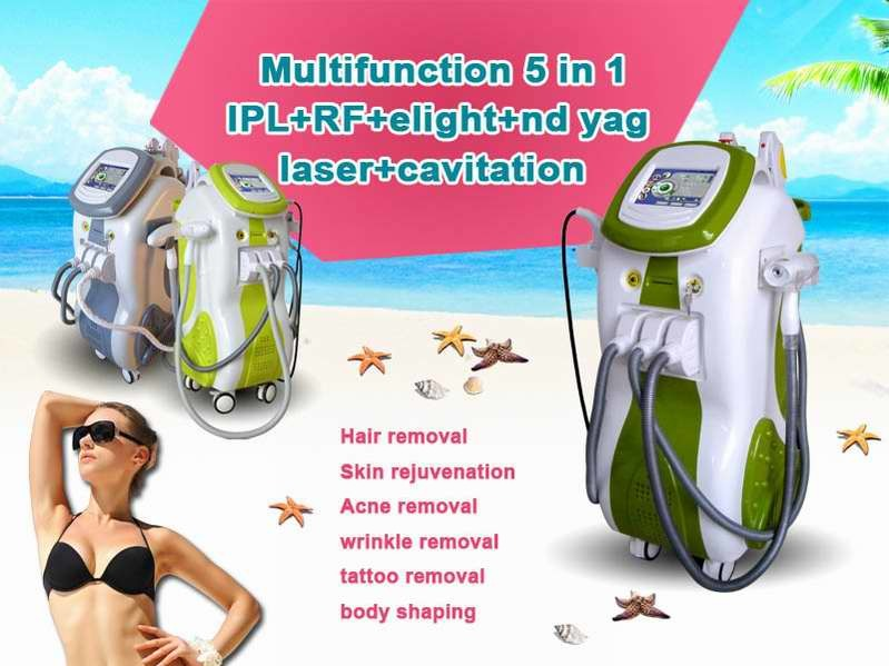 IPL Elight Shr ND YAG Laser Multifunction Salon Machine