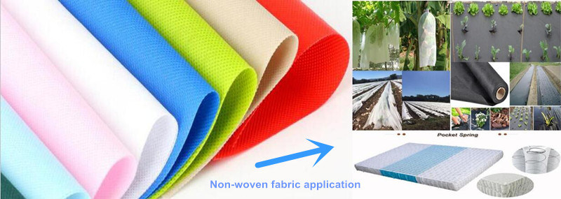 80g Colors PP Spunbond Nonwoven Fabric for Advertisement Bags