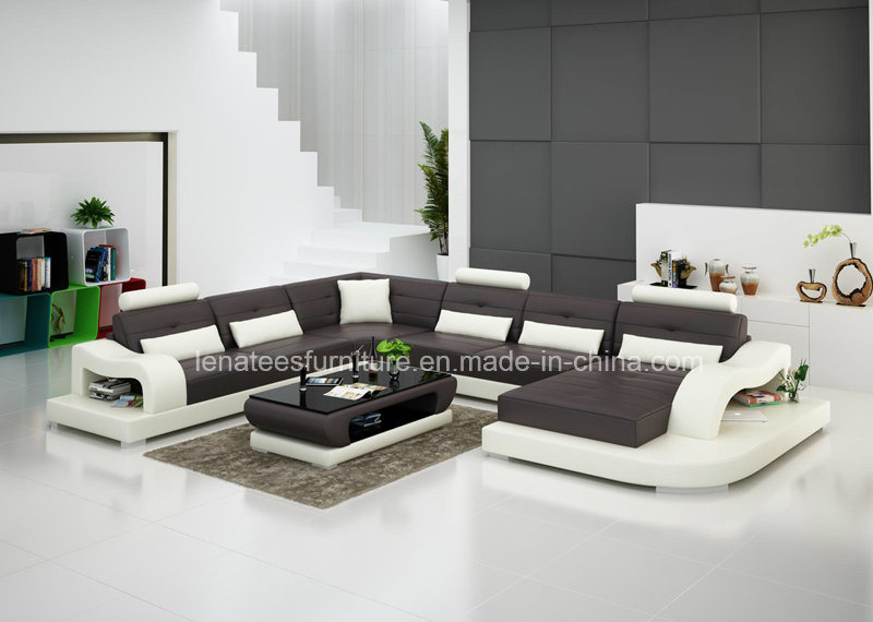 g8005 king size accueil canap en cuir de luxe design. Black Bedroom Furniture Sets. Home Design Ideas
