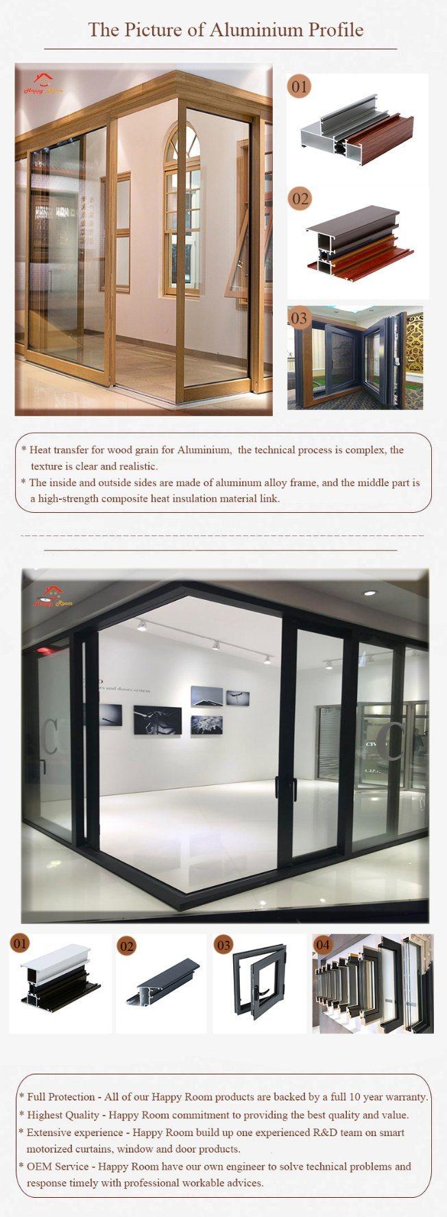 Hot Sell Modern House Security Aluminumaluminium Glass Sliding Door