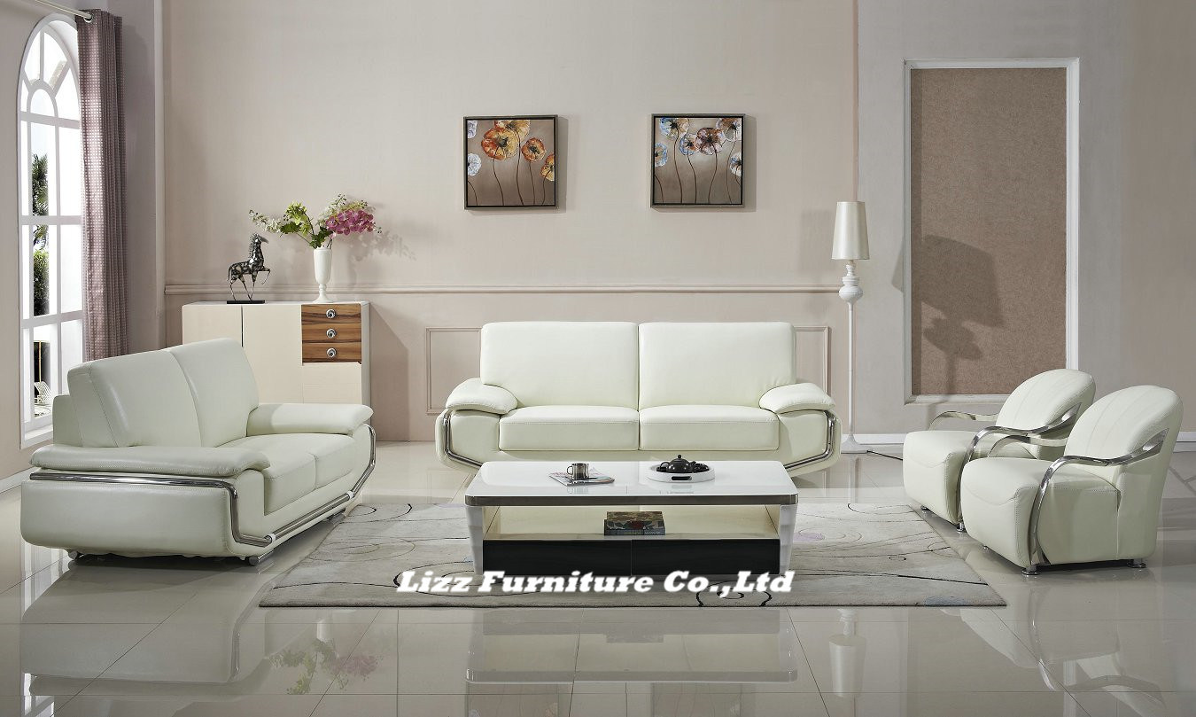 Modern Home Furniture Living Room Leather Sofa Set China Modern