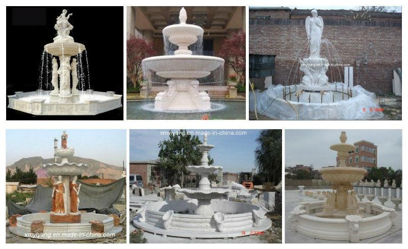 Fontana Giardino Pietra : Fontana di pietra bianca naturale del giardino dellacqua di oudoor