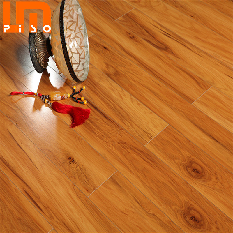Ac3 8mm Wood Laminate Flooring, Hickory Laminate Flooring