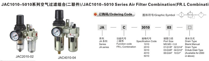 AC1010-5010 Series Pneumatic Air Filter