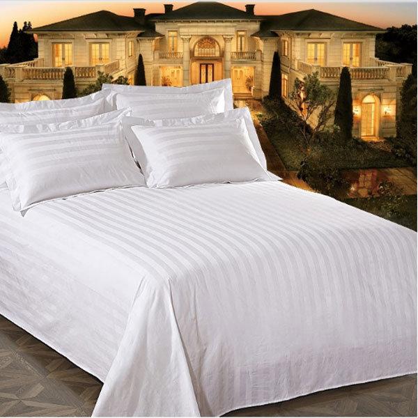 h tel le linge de lit en coton jeu de feuilles de lit de. Black Bedroom Furniture Sets. Home Design Ideas