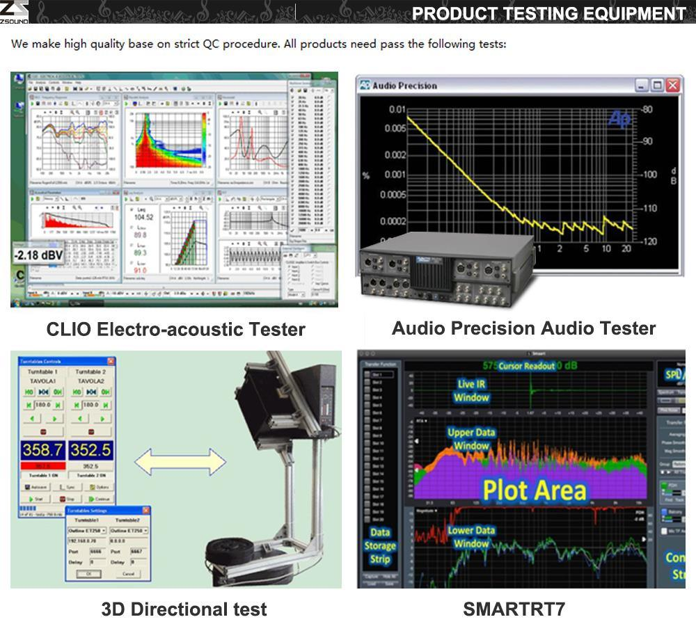 Zsound VCM Passive Compact 3 Way Line Array PA Speaker