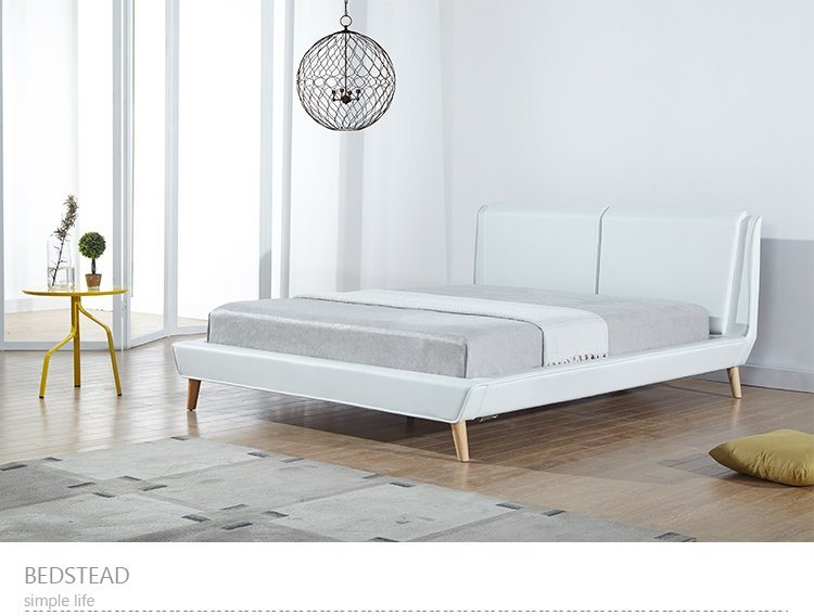 . Hot Item  Modern Design Wooden Single Bed Designs From China