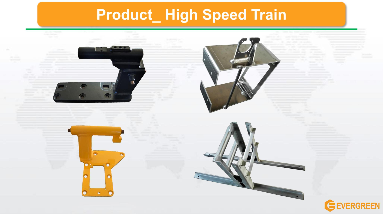 Welding Machined Train Part Metro Part Metalworks