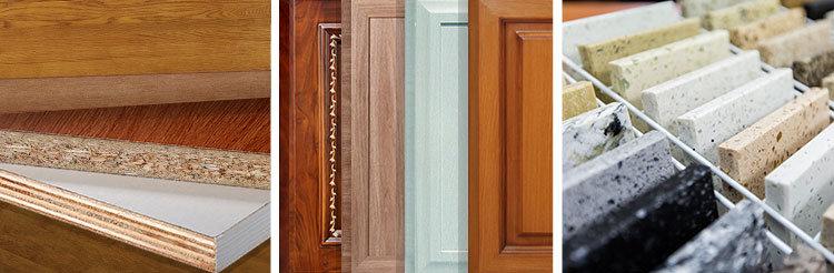 La moderna cocina agitador blanco y gris de armario con puertas de ...