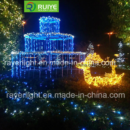 Hot Item Led Pine Tree Light Christmas Home Decorative