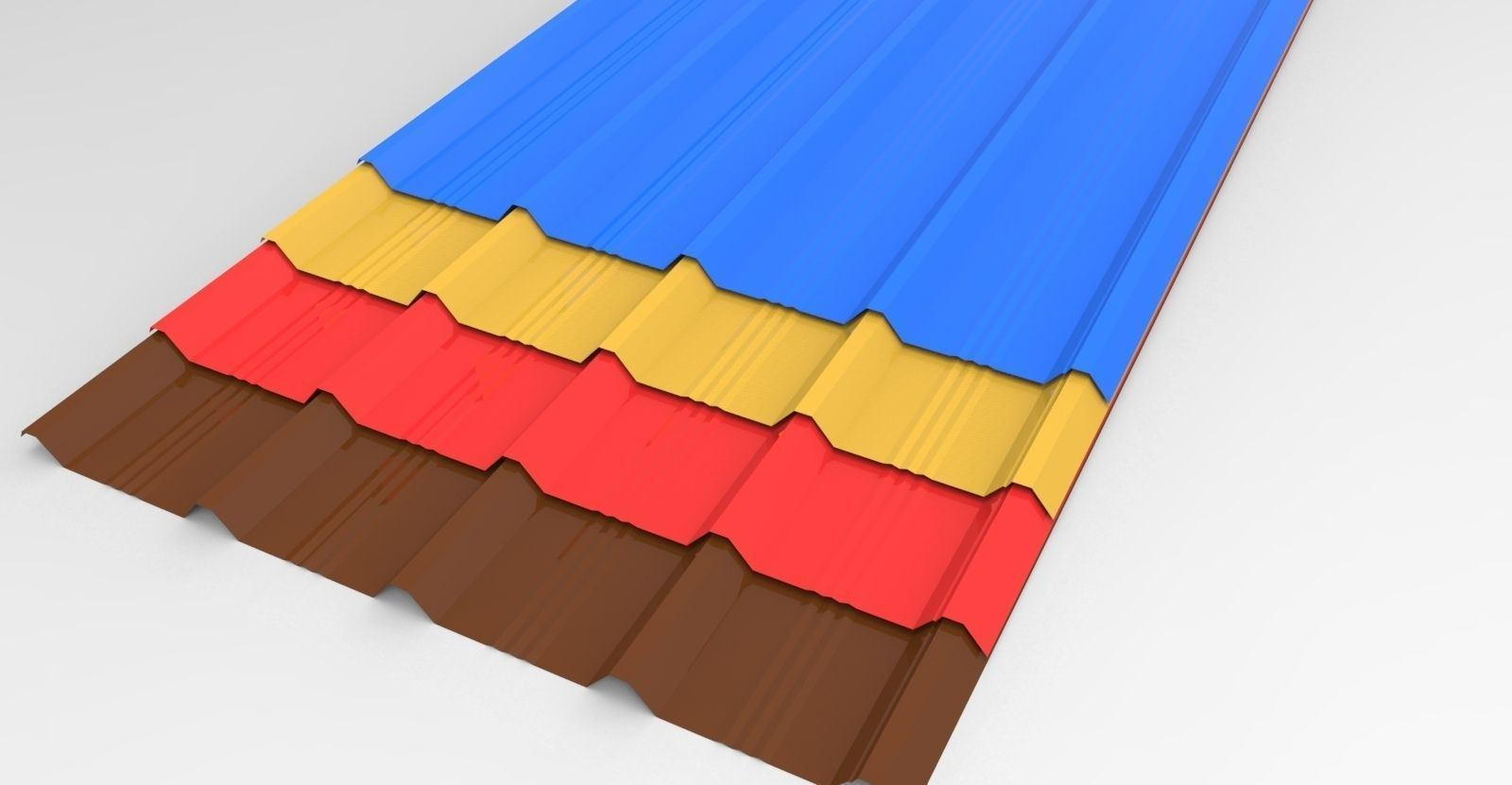 Colour roof sheets - Colour Coated Sheets Price Wholesale Price Prime Color Corrugated Steel Sheet China Steel Steel Sheet