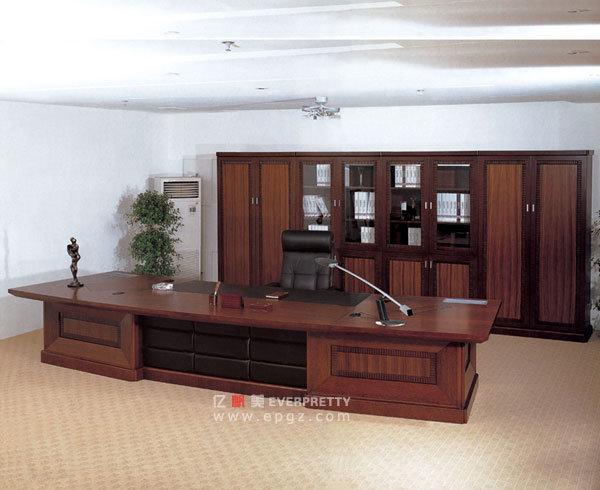 Patron de bureau en bois de luxe bureau bureau bureau moderne
