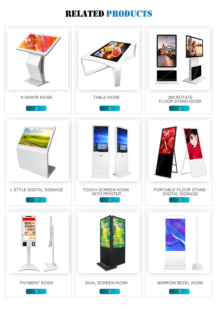 2019 New Hot Selling 32 Inch Payment Kiosk All in One Self Service Kiosk for Supermarket or Store