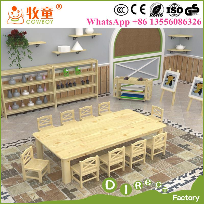 Suministros de China Los niños de kindergarten de muebles de madera ...