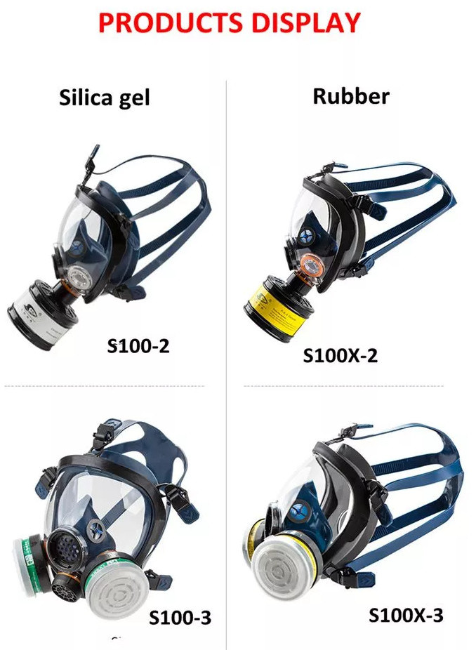 En136 Approved Chemical Gas Mask