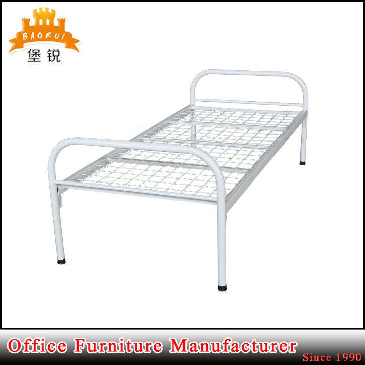 Fas-086 Kd el bastidor de tubo redondo de hierro muebles Cama de ...