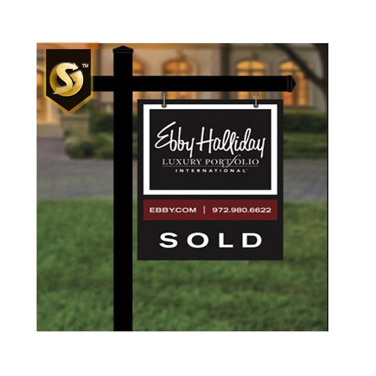 real estate frame signs