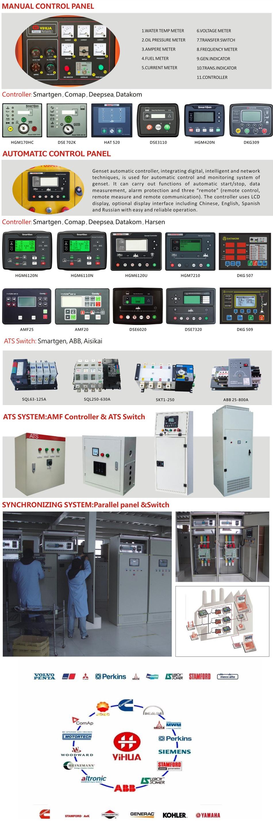 Water Powered 120kw Silent Type Diesel Motor Deutz Generator Transfer Switch Wiringautomatic Suyang Atsautomatic Certificate Yihua Team