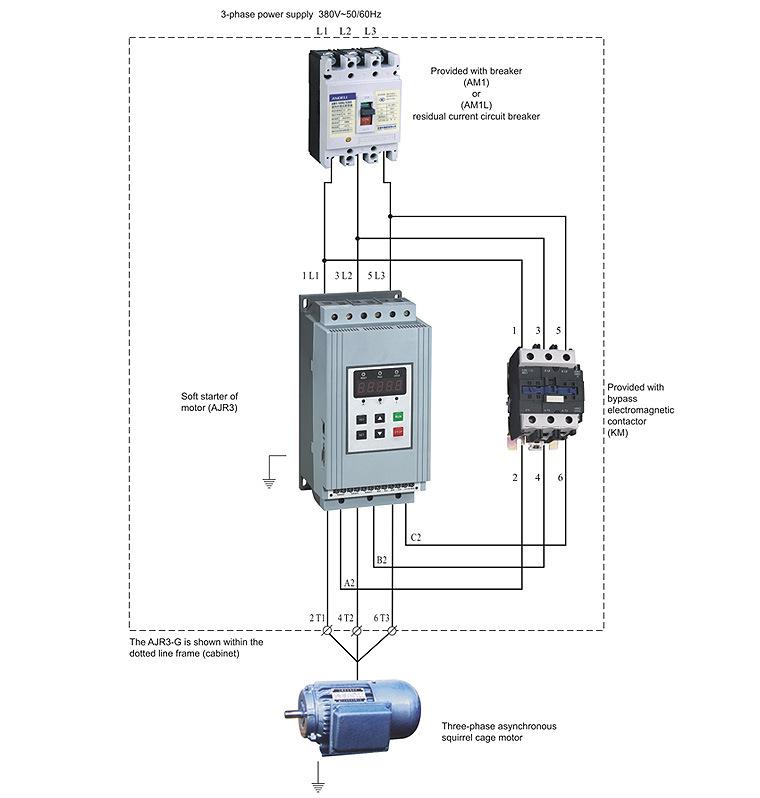 Schema Elettrico Per Yard : Kw ac v hz intelligent motor soft starter ajr