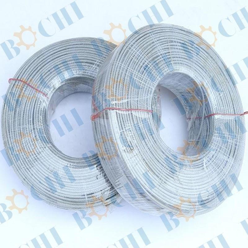 Nylon/PE/ PVC/PA/PP Coated Galvanized Anti-Rust Steel Wire Rope ...