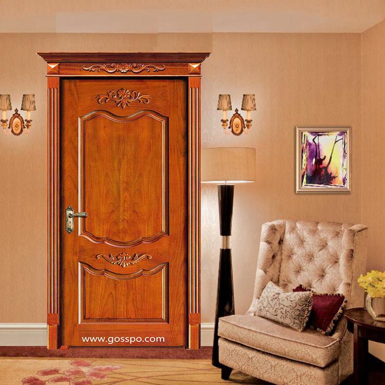 Puerta de madera sólida de madera de madera oscilante de la puerta ...