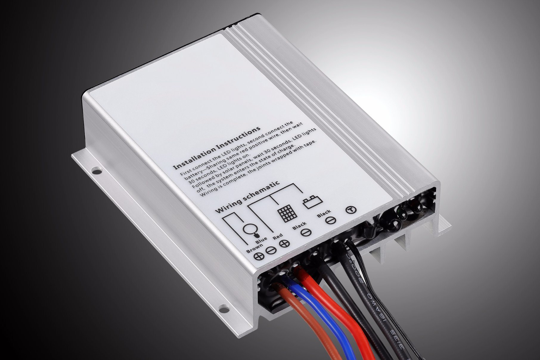 10a 12v 24v Solar Street Led Light Lamp Charge Controller With 30ma Dimmer 1can Output Constant Current Can Be Setaccuracy 50ma Min 25 Stages Time And Dimming Adjuted 0 100