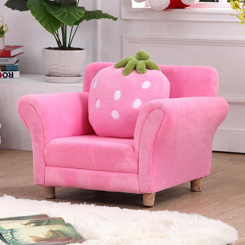 Dulce bebé fresa de mobiliario y muebles para niños/sofá con la ...