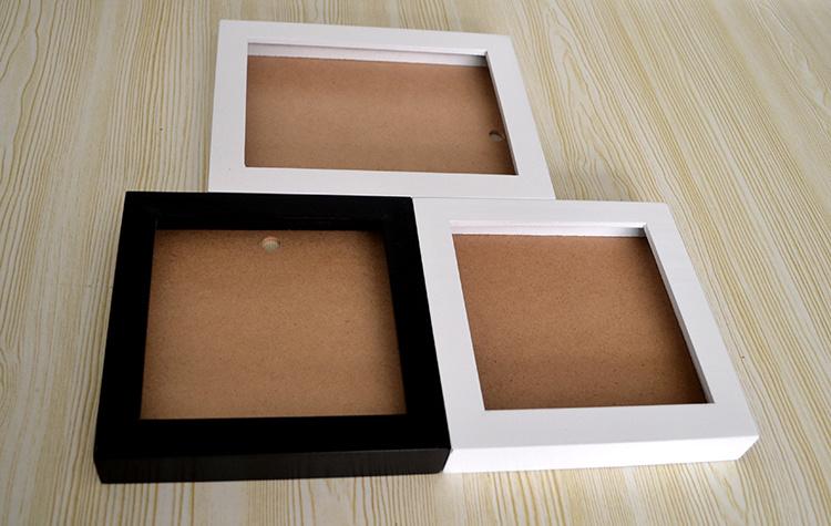 3D profunda sombra de los marcos de fotos Cuadro de madera – 3D ...