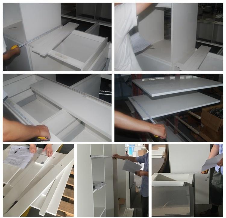 Laca blanca mueble de cocina con moderno diseño de cocinas – Laca ...