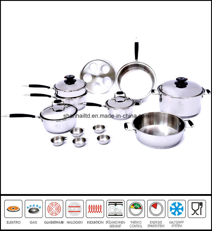 T304 de acero inoxidable quir rgico waterless conjunto de - Utensilios de cocina china ...