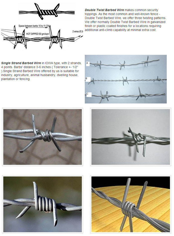 Contertina Hot Dipped Galvanized Razor Barbed Wire for Fence - China ...