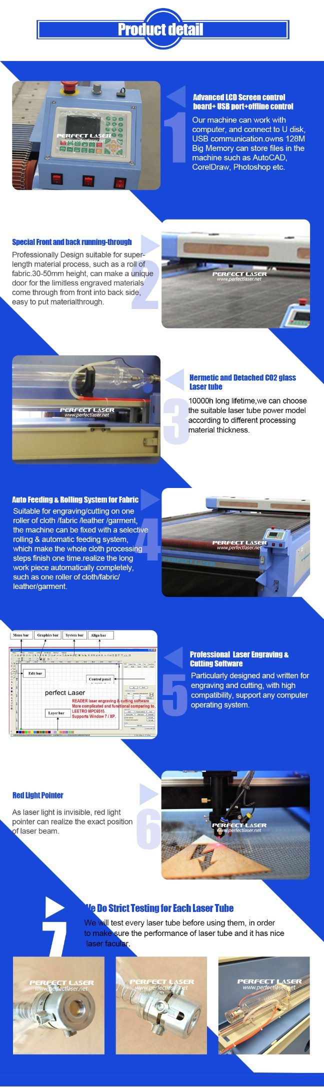 Fabric Leather Cloth Acrylic Wood Plastic Glass CO2 Laser Engraving Cutting  Machine Price