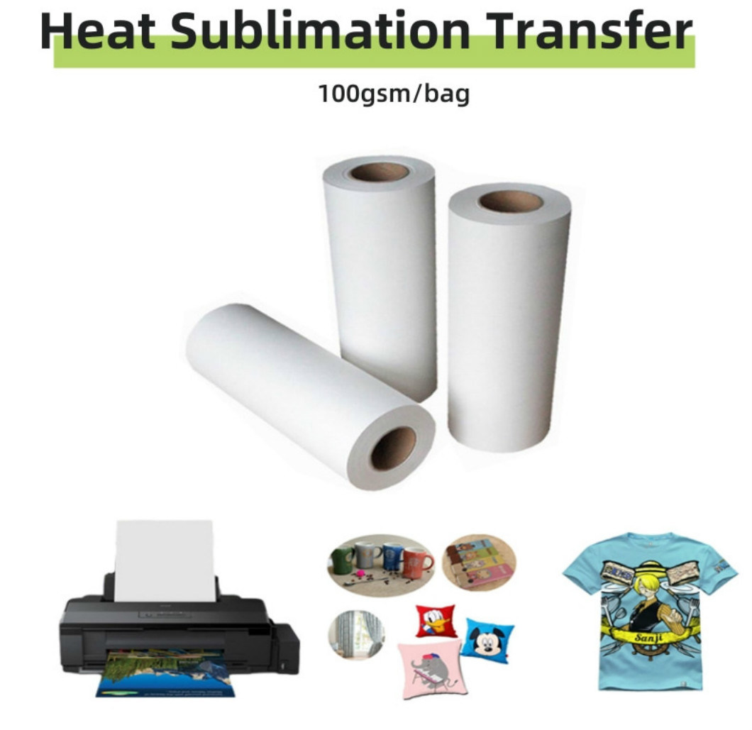 T-Shirt Light and Dark Color Heat Transfer Paper for Digital Printing