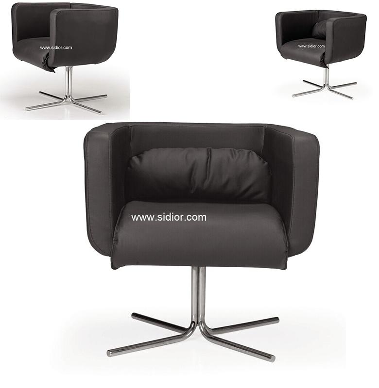 Sd 2015 de metal moderno silla de cuero de ocio para for Ocio muebles