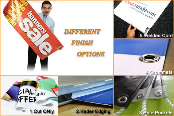 Outdoor Advertising Banner Prining, Vinyl Banner, Outdotor Banner, PVC Banner (TJ-004)