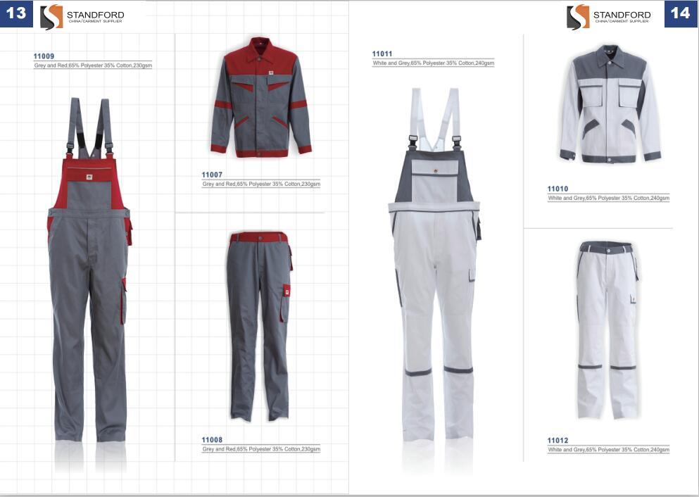 [Hot Item] 100% Cotton Safety Flame Fire Retardant Safety Workwear Clothes  Overall Suit, Winter Offshore Fireproof Fr Working Ripstop Coverall for Oil