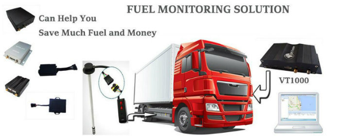 Oil Stolen Alarm Truck Car GPS GSM Tracker for Fleet Management