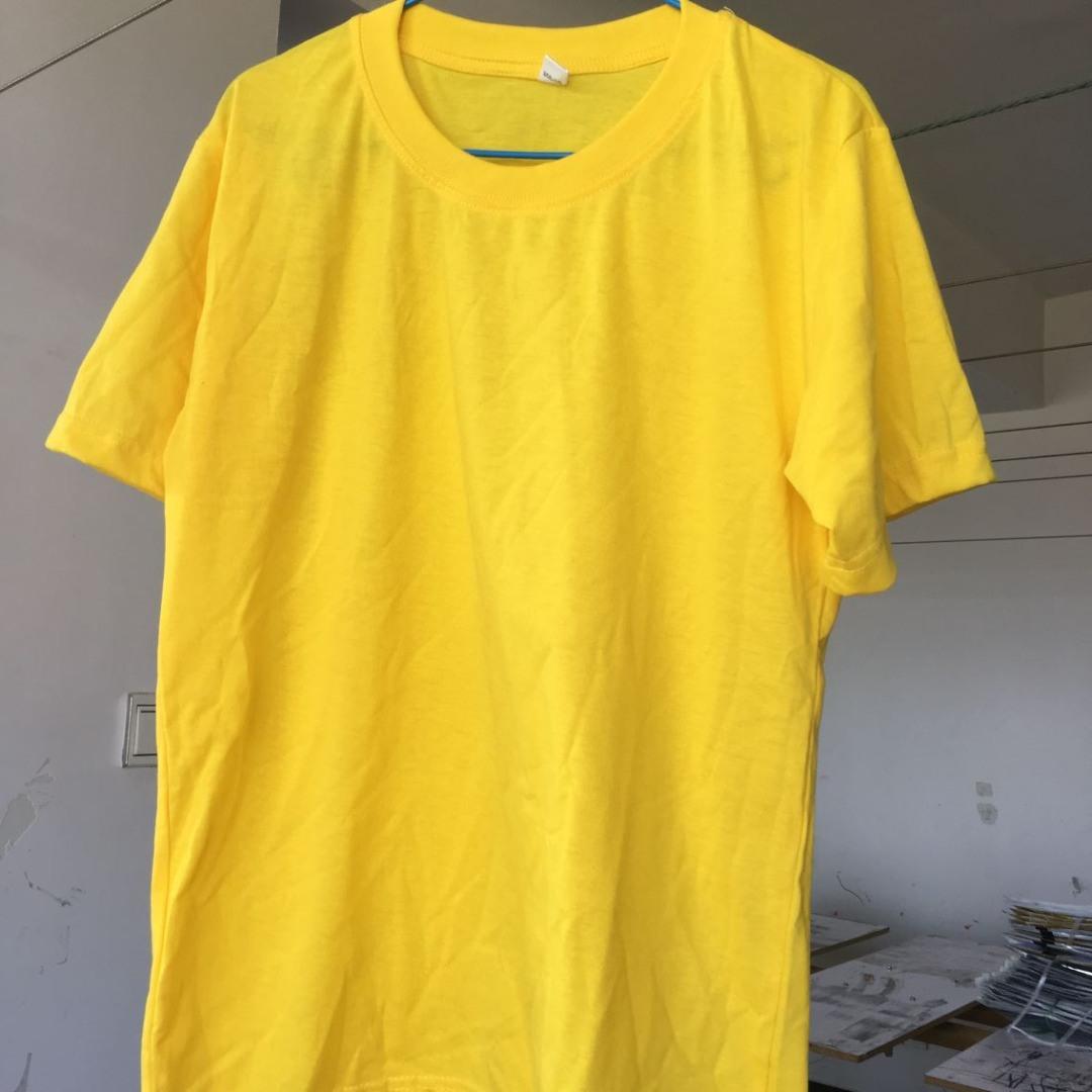 Cheap Give Away Show Your Logo Custom T Shirt Printing China T