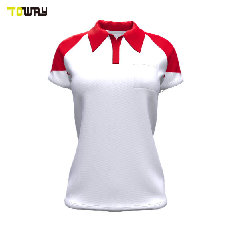 Women S Office Design Uniform Custom Polo Shirt China Design Color