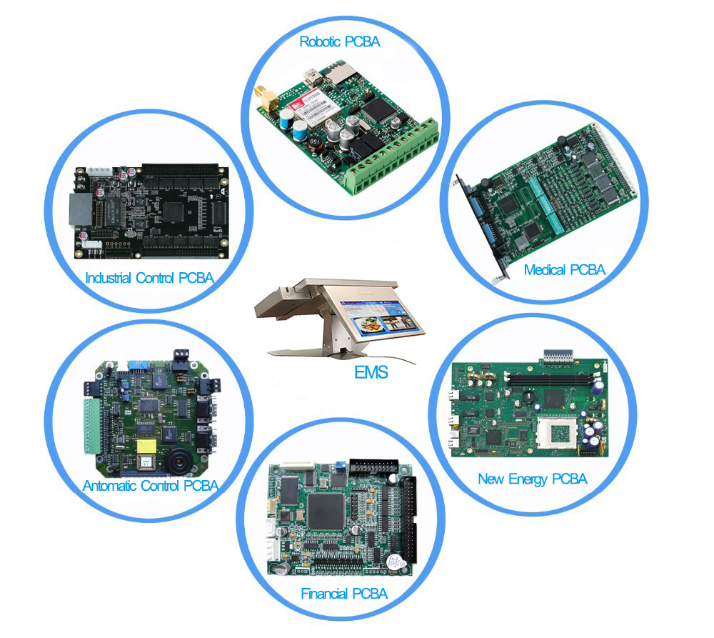 Fr4 Smt Electronic Pcb Assembly Main Board Pcba China Hasl Lead Free Printed Circuit Reliable Supply Chainwe Have Established Long Term Strategic Cooperation With The Top Components