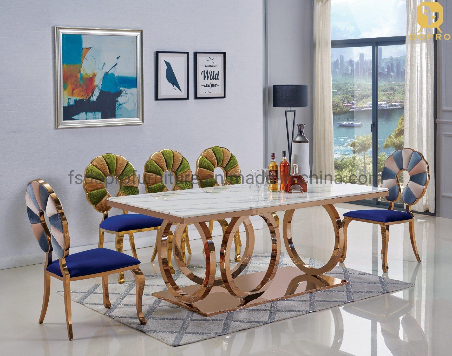 White Luxury 4 6 8 Seater Marble Modern, Designer Modern Dining Room Chairs