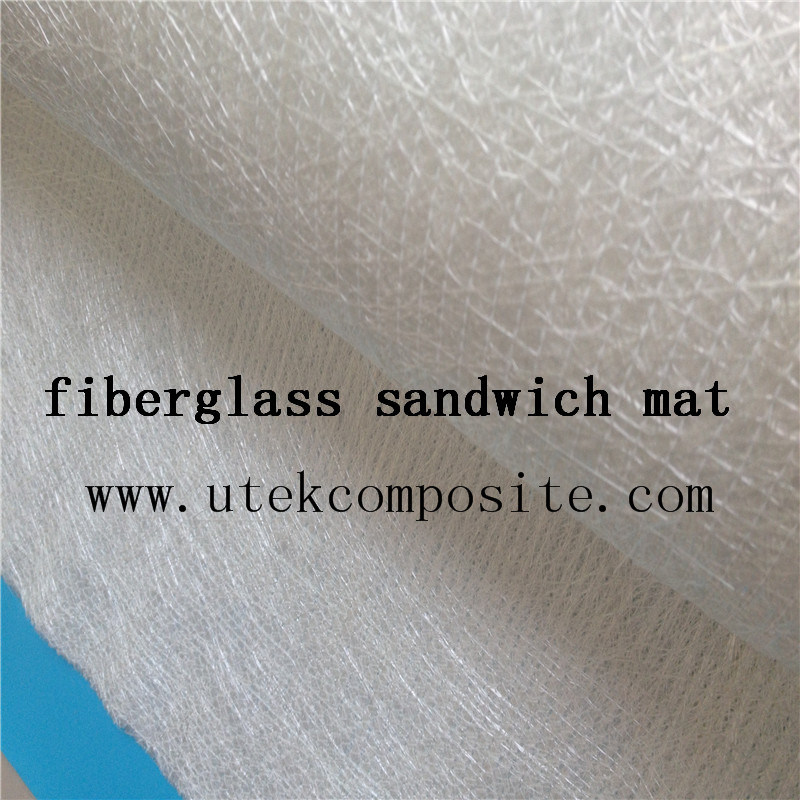 Good Flow 300/180/300 Fiberglass Sandwich Fabric for Rtm