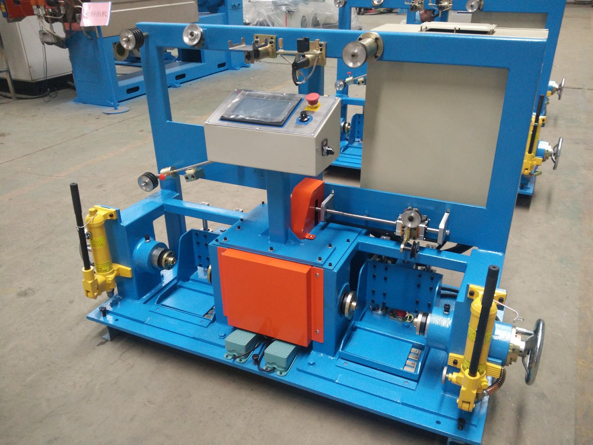 Core Wire Double Shaft Active Rewinding Machine - China Pay-off ...