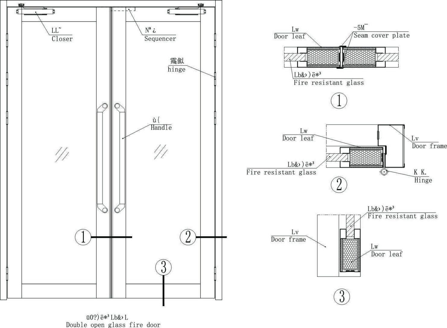 Gl Door (Fire Rated) 30-90 Minutes - China Fire Rated Gl Doors ... Fire Rated External Door Frame on