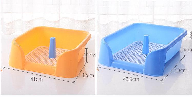 [Hot Item] Indoor Puppy Dog Pet House Potty Training PEE Pad Mat Tray  Toilet Factory