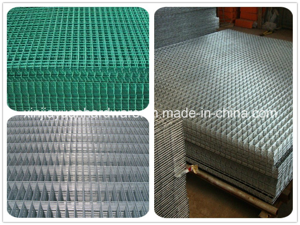Smart Expo - Galvanized /PVC Coated Welded Wire Mesh Panel at THE ...