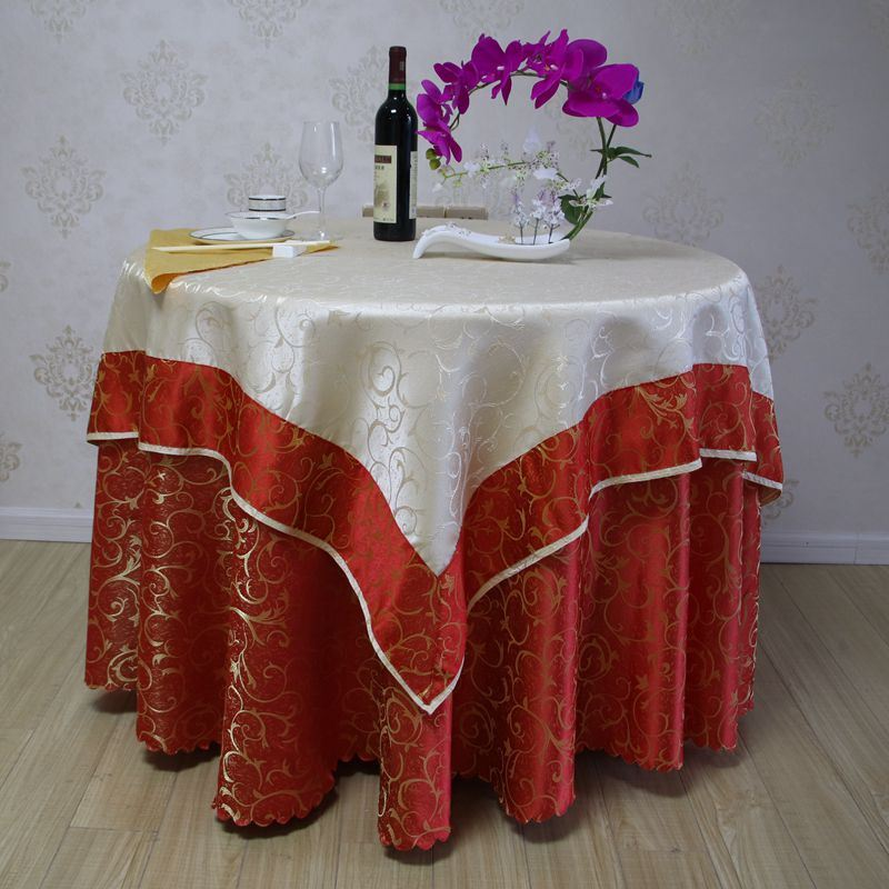 High Quality Round Table Cloth Wedding, Round Table Cover