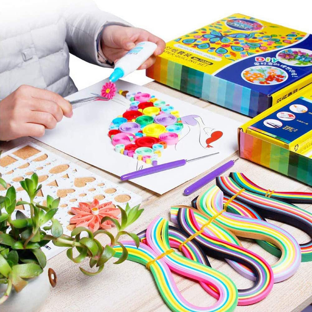 26801 Quilling Starter Kit Paper Tools Arts and Crafts